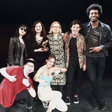 Slam Of The North 2017 Competition Team; Leeds University Spoken Word Society